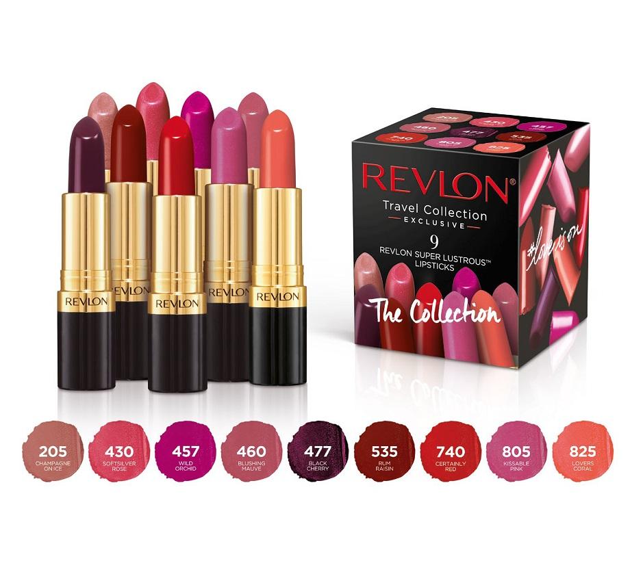 Cosmetics - Revlon - Revlon Super Lustrous Lipstick 9 pcs